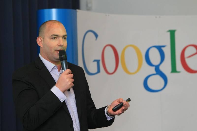מיקי לרנר בכנס גוגל