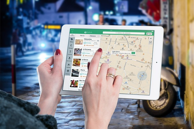 חיפוש עסקים בגוגל מפות